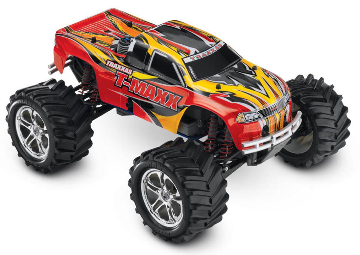 Traxxas T-Maxx, nitro monster truck, 1/10