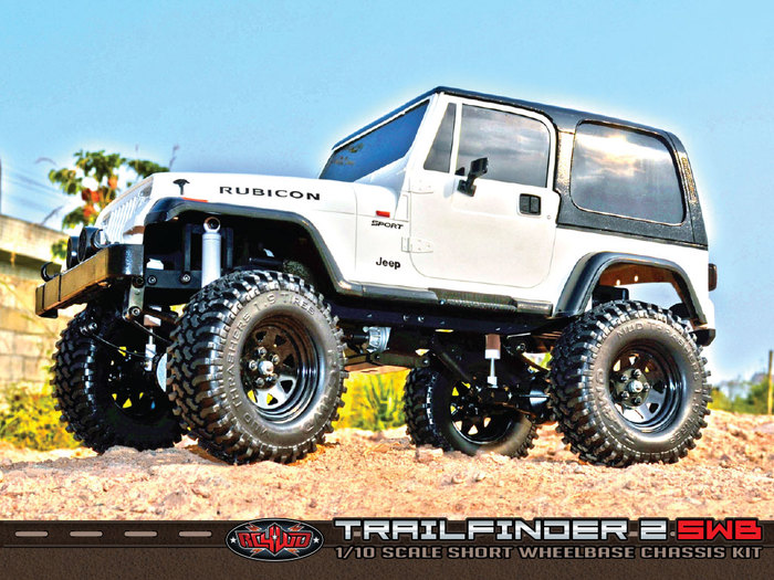Rc4wd S Trailfinder 2 Goes Short Wheelbase Rc Car Action