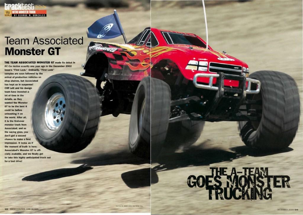 Team Associated MGT, Monster truck, racing