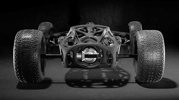 3D printed rubber band car 7