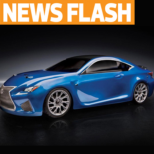 Team Associated Apex Lexus RC F to be Featured in Lexus Super Bowl Ad