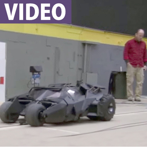"Batman's Tumbler 1/3-Scale RC ""Miniature"""