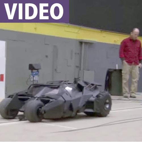 "Batman's Tumbler 1/3-Scale RC ""Miniature"""