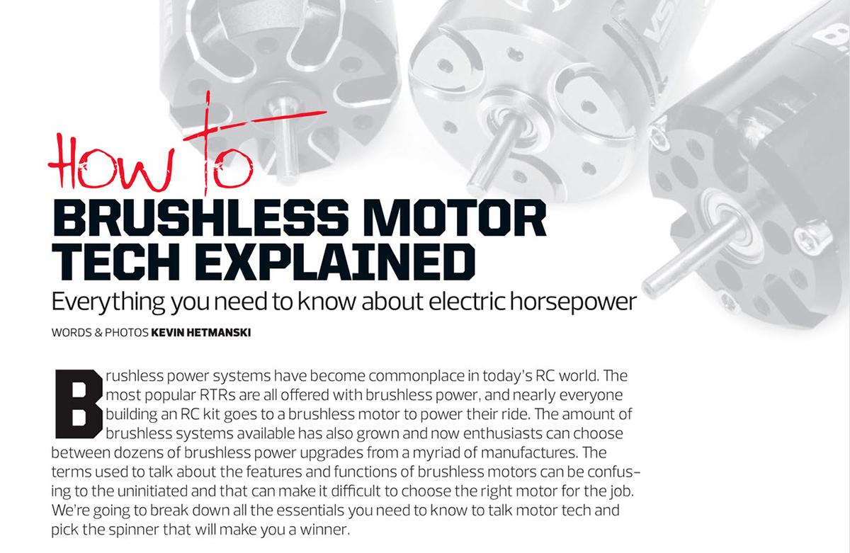 Brushless Motors 1