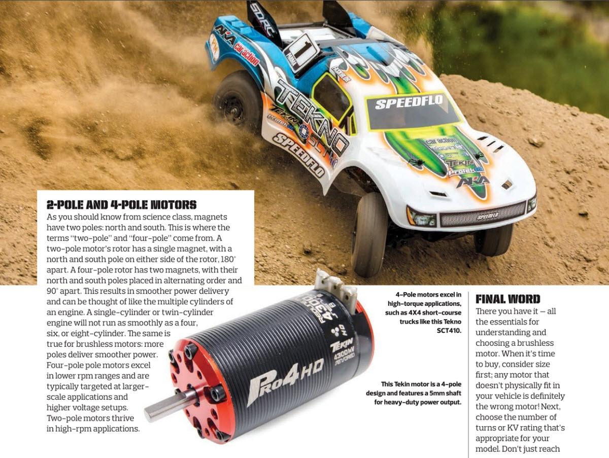 Brushless motors 55
