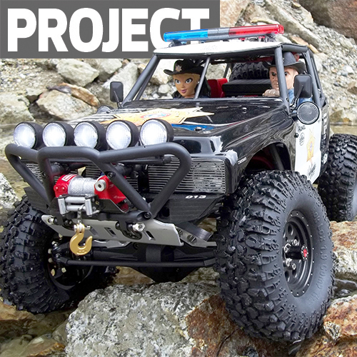 """Axial Wraith """"County Mounty"""" Project Build"""