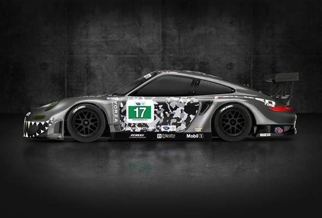 HPI Falken Tire Porsche 911 GT3 RSR RS4 Sport 3 FLUX