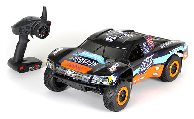 Losi TEN-SCTE RTR with Troy Lee Designs livery.