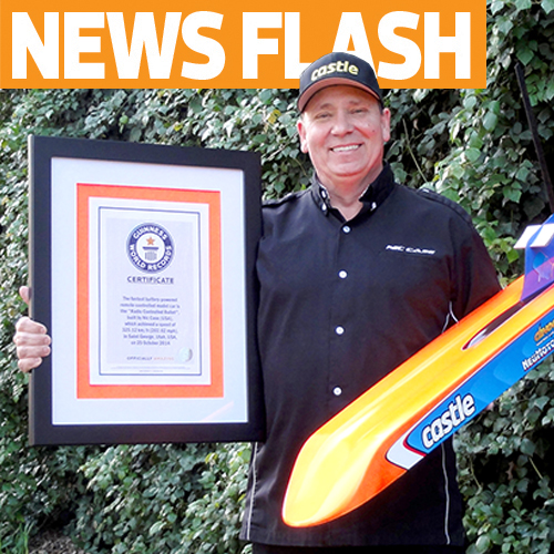 Guinness Book Makes it Official, Nic Case World's Fastest at 202.02mph