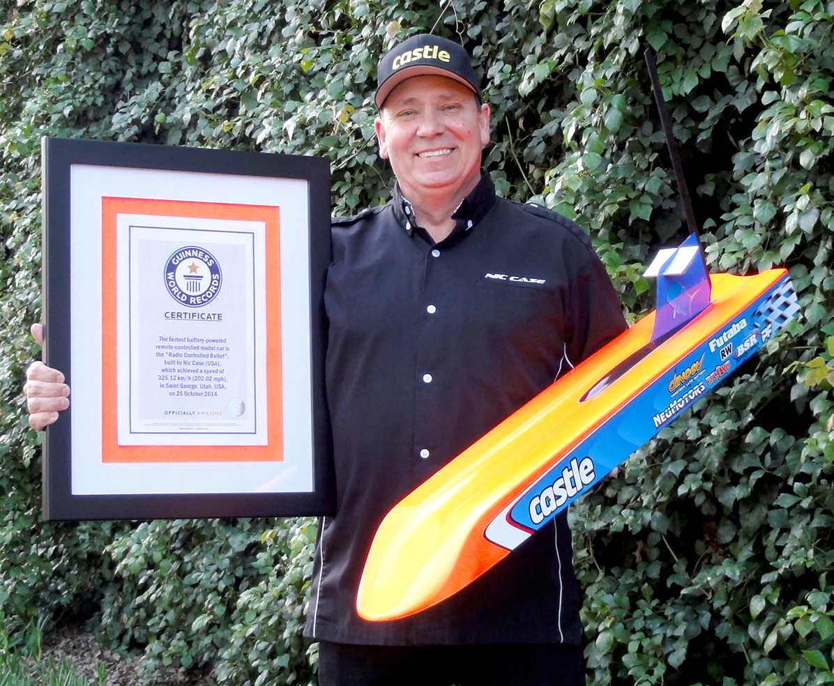 Nic Case Worlds Fastest Guiness Record