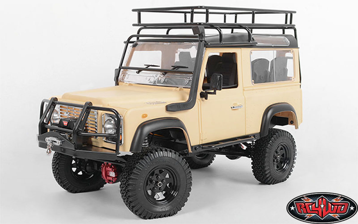 rc4wd gelande ii d90 now offered as limited edition rtr. Black Bedroom Furniture Sets. Home Design Ideas