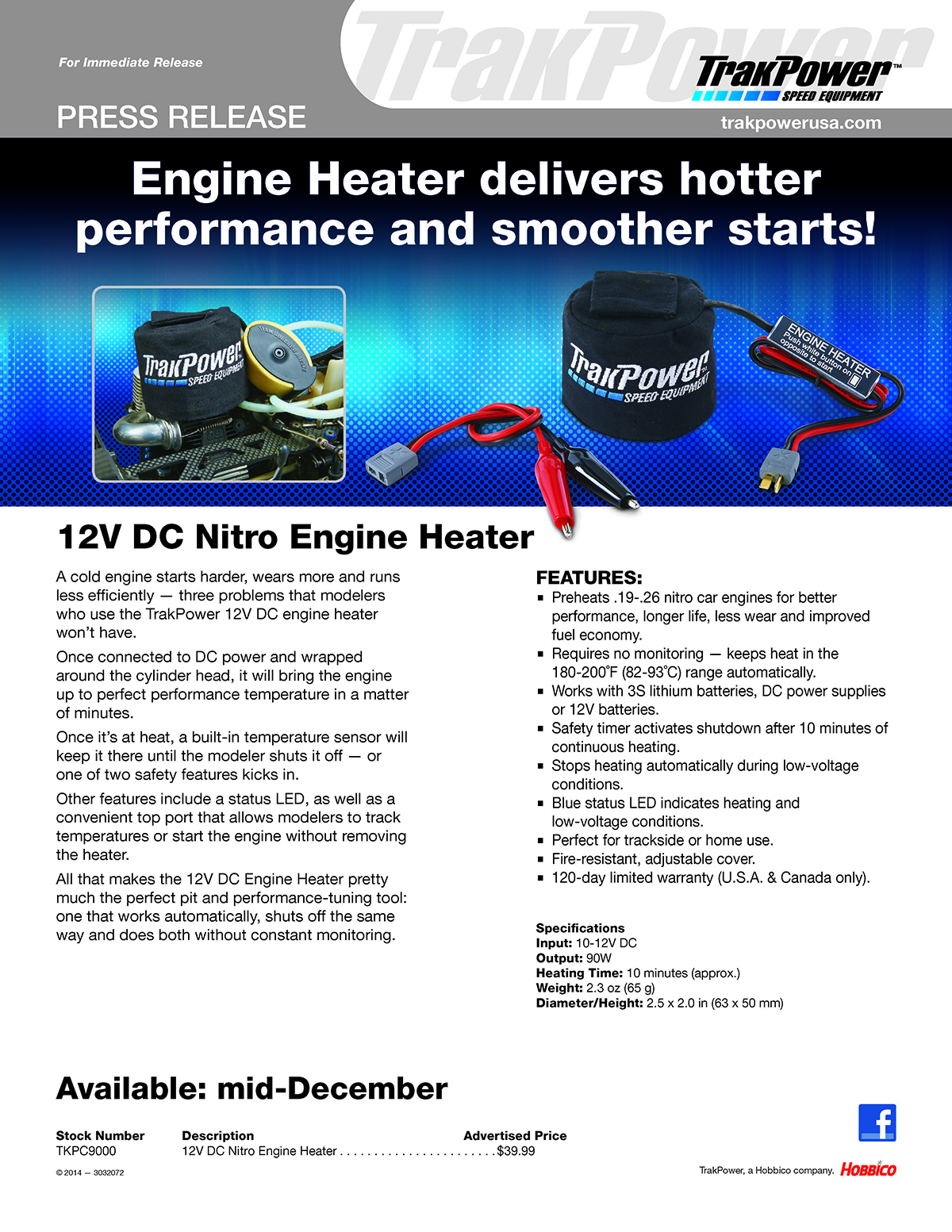 TKP Engine Heater