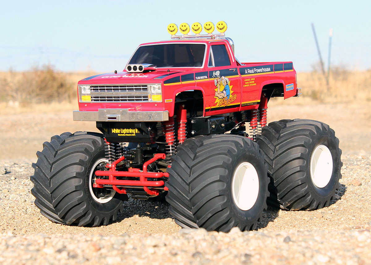 rc trucks with Marui Big Bear Looking Back At Rcs First Monster Truck on Review Kershaw Designs Traxxas X Maxx Brushlesslipo Upgrade also Scx10 Based Croc Hunter Land Cruiser Readers Ride furthermore Showthread additionally How On Earth Did These Bizarre Car Accidents Happen Do You Probably Have An Explanation furthermore Watch.