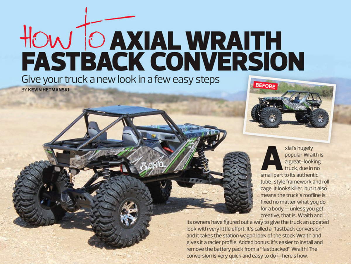 Axial Wraith Fastback 1