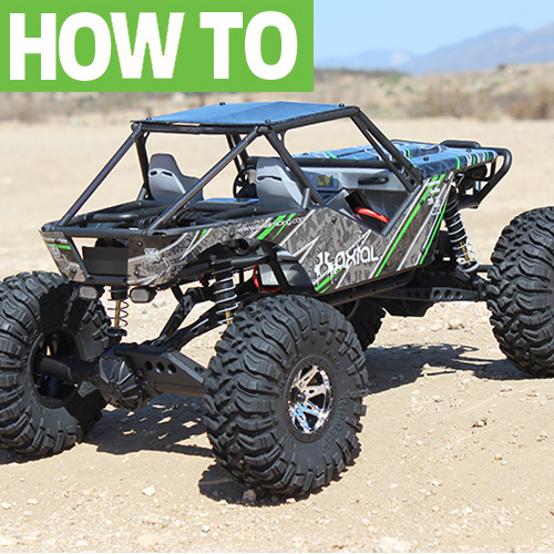 Axial Wraith Fastback Conversion