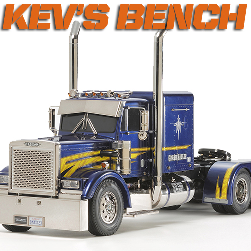 Kev's Bench: Unboxing The Tamiya Grand Hauler