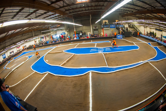 OC/RC Raceway in Huntington Beach, California is one track that intentionally tries to prevent its grip from going too high and avoids the need to use slick tires.