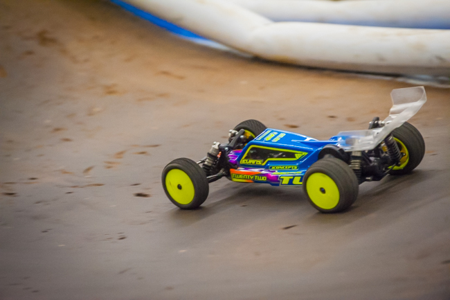 The most popular class at most tracks seems to be 2WD buggy.