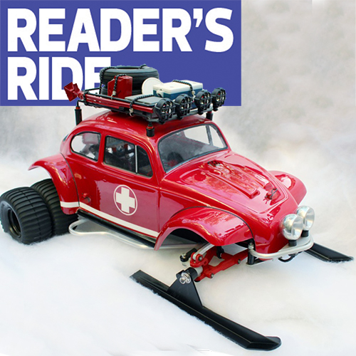"Tamiya Grasshopper ""Snow Hopper"" by Jeffrey Transou"