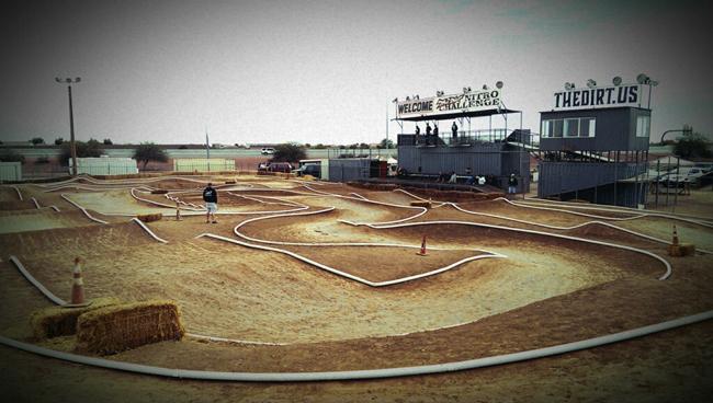 The Dirt Nitro Challenge treacherous layout.
