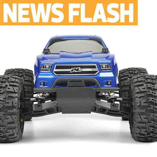 "Pro-Line PRO-MT Now Available as ""Pro-Built"" RTR With Castle & Airtronics Gear"