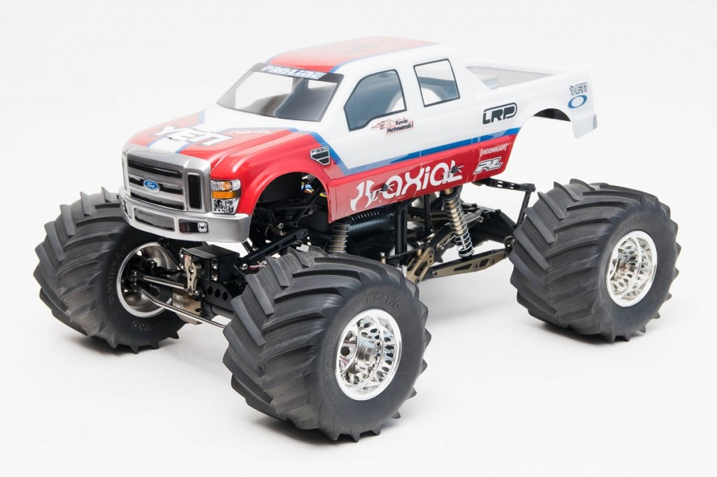 Axial Remote Control : Axial needs to build this solid axle monster truck