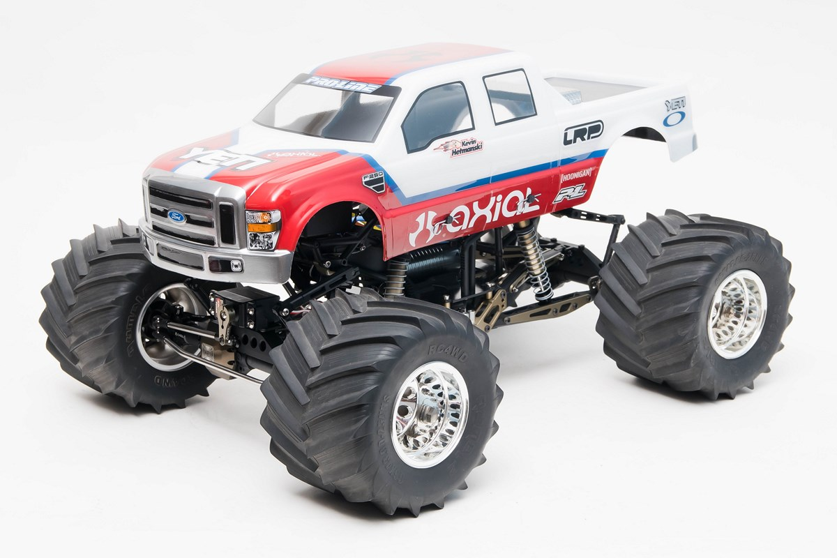 axial needs to build this solid axle monster truck. Black Bedroom Furniture Sets. Home Design Ideas