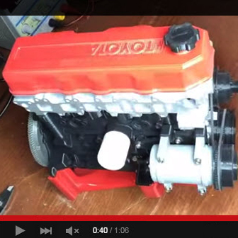 This Operating 3D-Printed Engine and Transmission Will Amaze You [VIDEO]