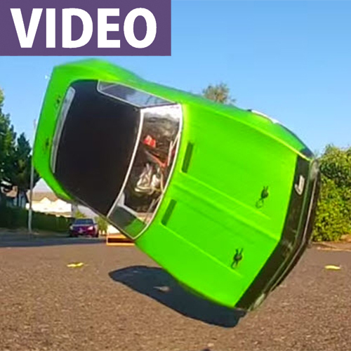 This RC Crash Video Will Hypnotize You