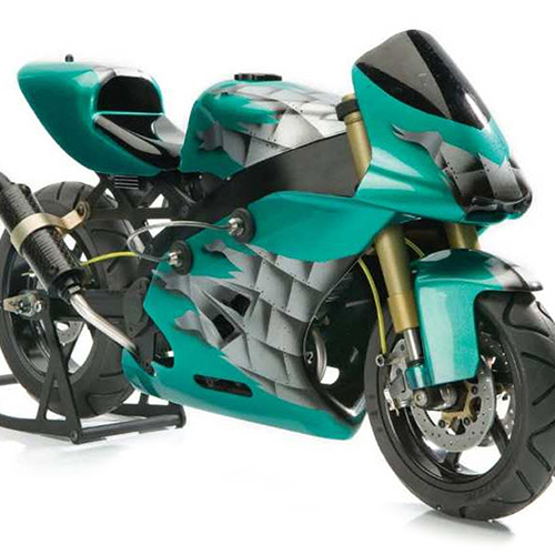 Amazing 1/5 Scale Superbike With 4-Stroke Power [Flashback]