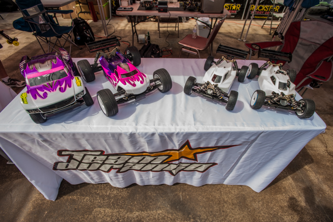 The new Off-road vehicles from Team Durango were on display, but not yet ready for public viewing under the hood.