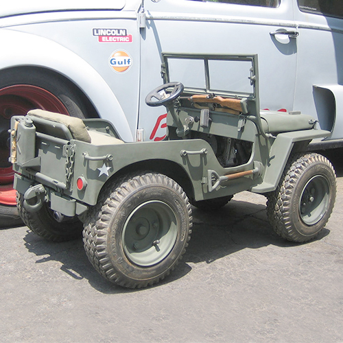 You Can Actually Ride This 1/3 Scale Jeep