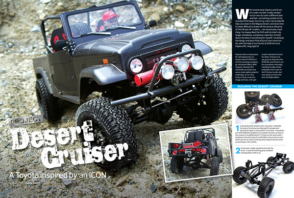 May RC Car Action ICON Desert Cruiser