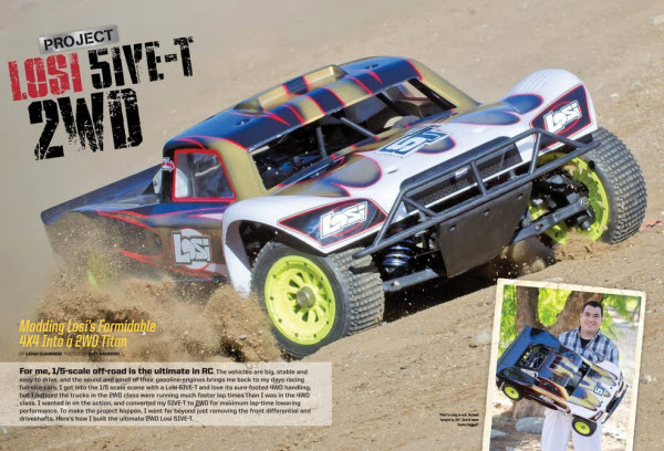 May RC Car Action Losi 5IVE 2WD