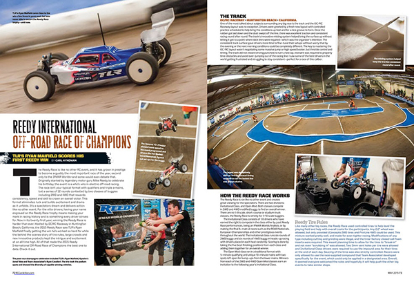 May RC Car Action Reedy Race