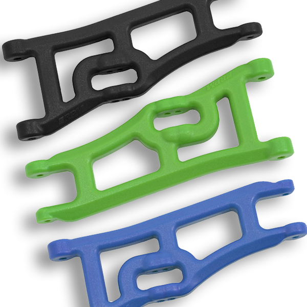 RPM Wide Front Arms for Traxxas Rustler & Stampede