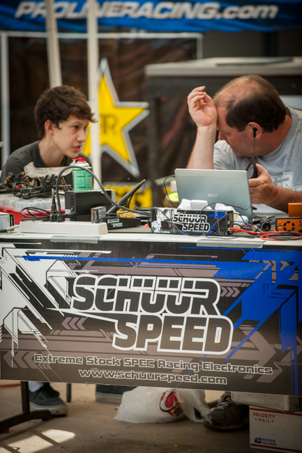 Ron Schuur of HobbyWing/Schuur Speed has been a busy man helping racers find the winning combo.