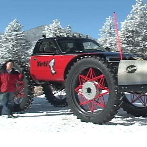 "This ""Yeti"" Has Nothing To Do With Axial"