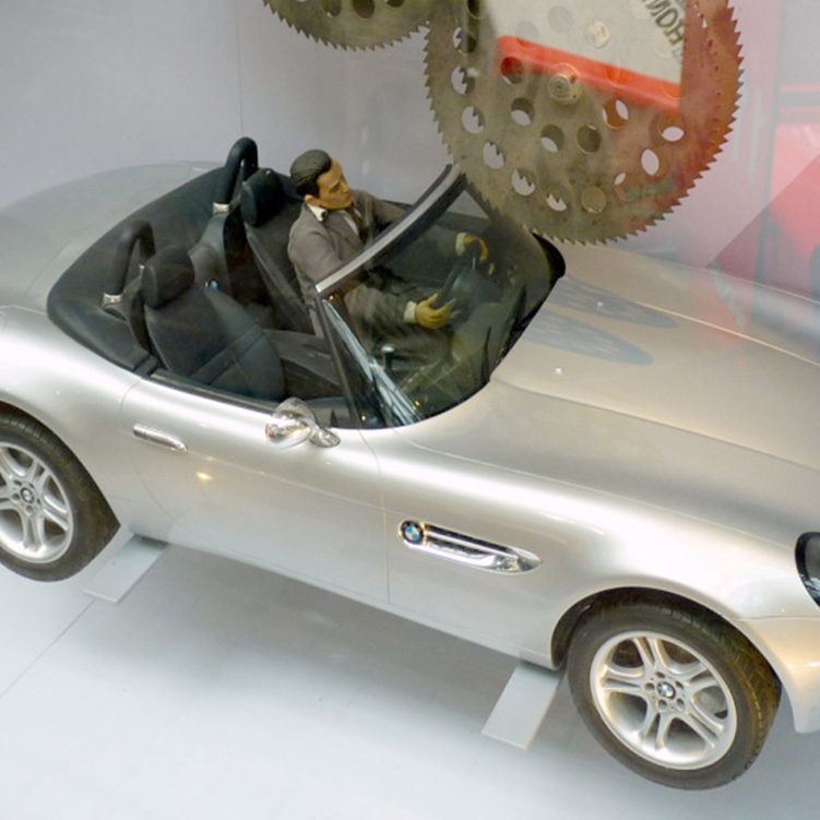 Fooled You: James Bond's BMW Z8 Was a 1/5 Scale RC Miniature