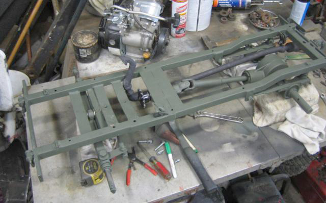 third scale jeep chassis