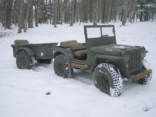 third scale jeep trailer