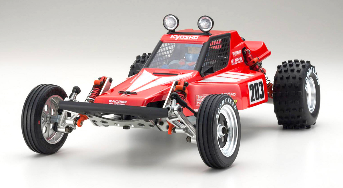 Kyosho Brings Back The Tomahawk Rc Car Action