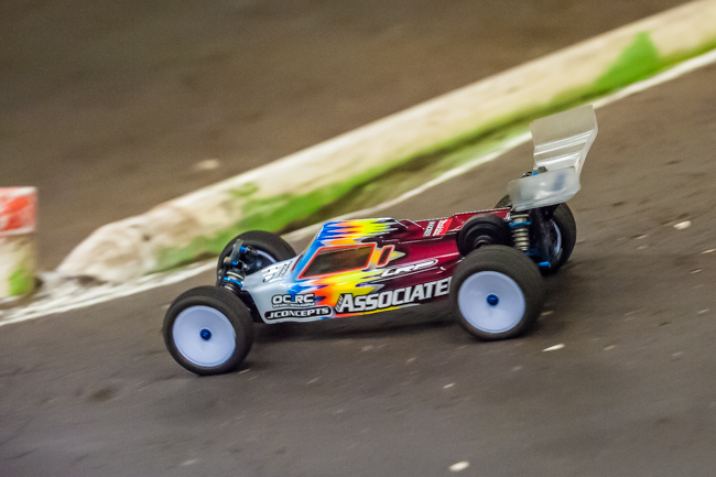 Team Associated's Steven Hartson has been in the mix, but some mistakes has held back higher results.