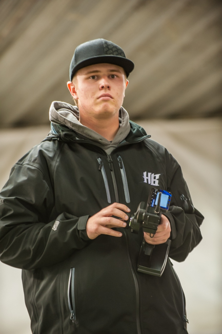 HB/HPI Racing's Drew Moller was able to lock down TQ in the first three qualifiers in 4WD buggy.