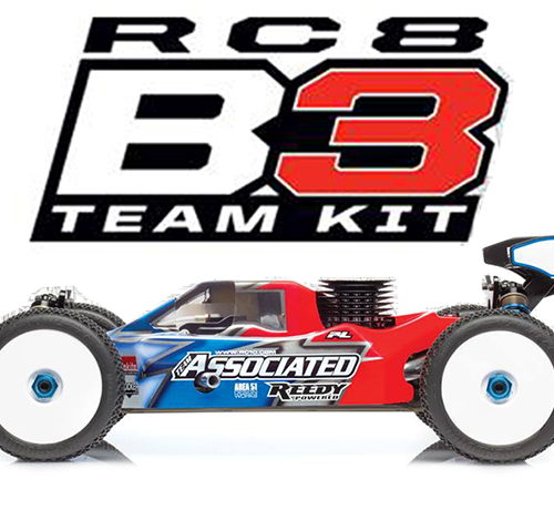 Team Associated RC8B3 Team Kit [Sneak Peak]