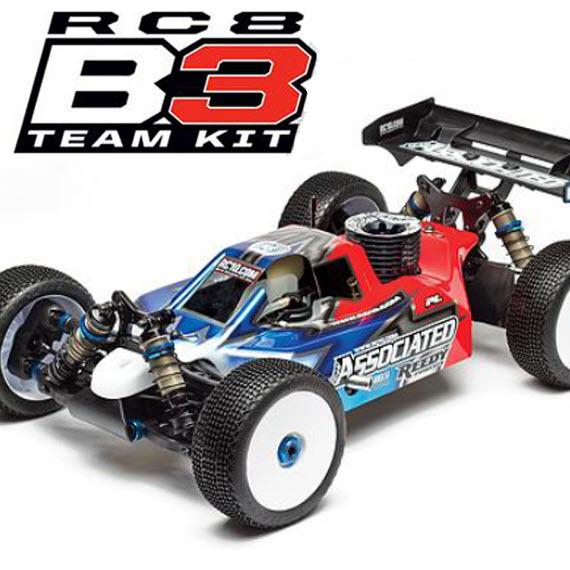 Team Associated Reveals RC8B3 Details
