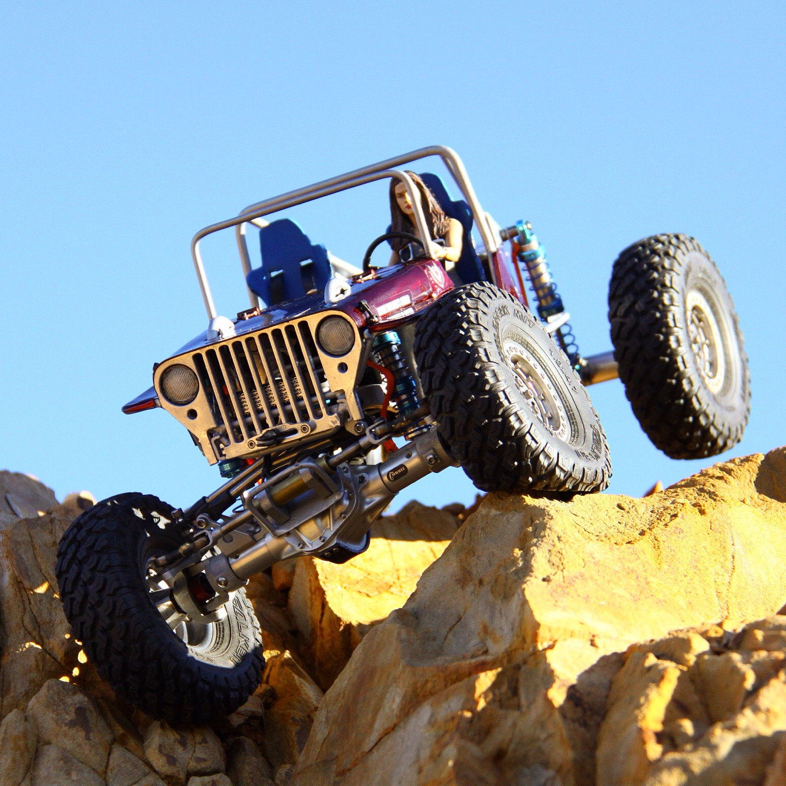 Axial SCX10-based CJ Willys Crawler by Warren Fisher [Readers Ride]