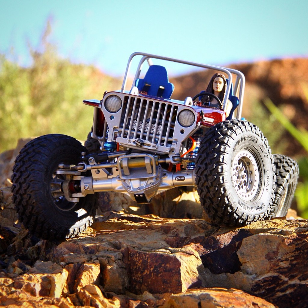 Rc Car Action: Axial SCX10-based CJ Willys Crawler By Warren Fisher