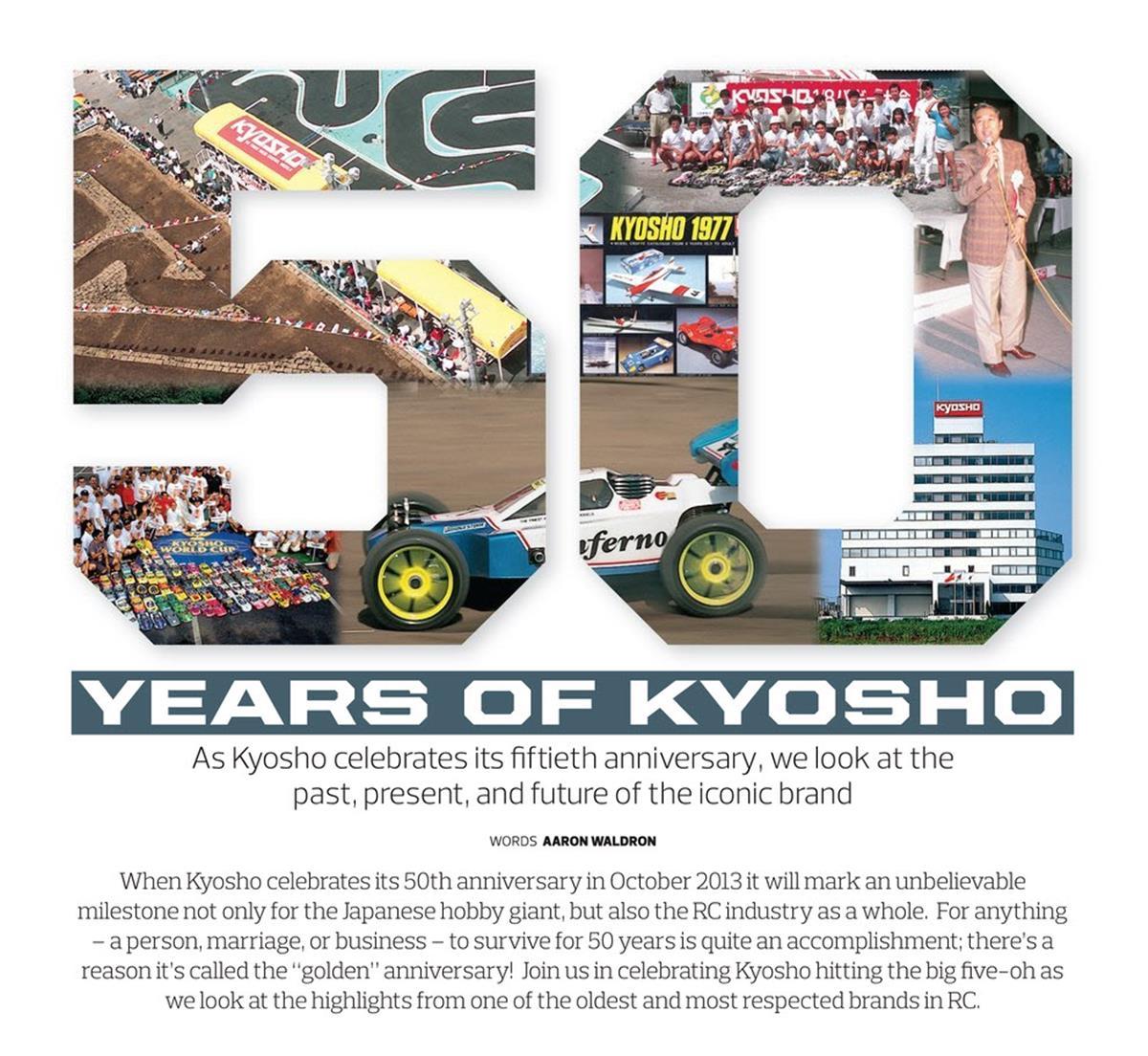 Kyosho 50 Years