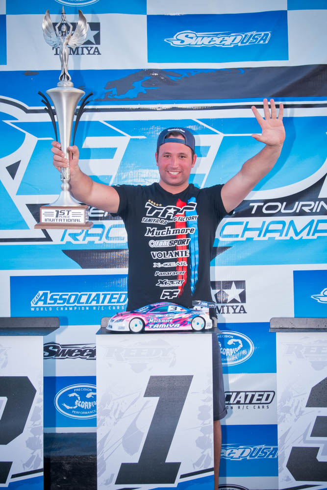 Marc Rheinard Wins Fifth Reedy On-Road Title